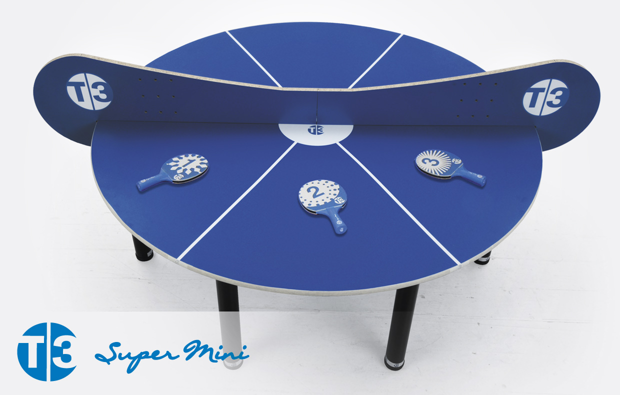 T3 Super Mini Indoor Table WAS £399.00 NOW £299.00 SAVE £100.00