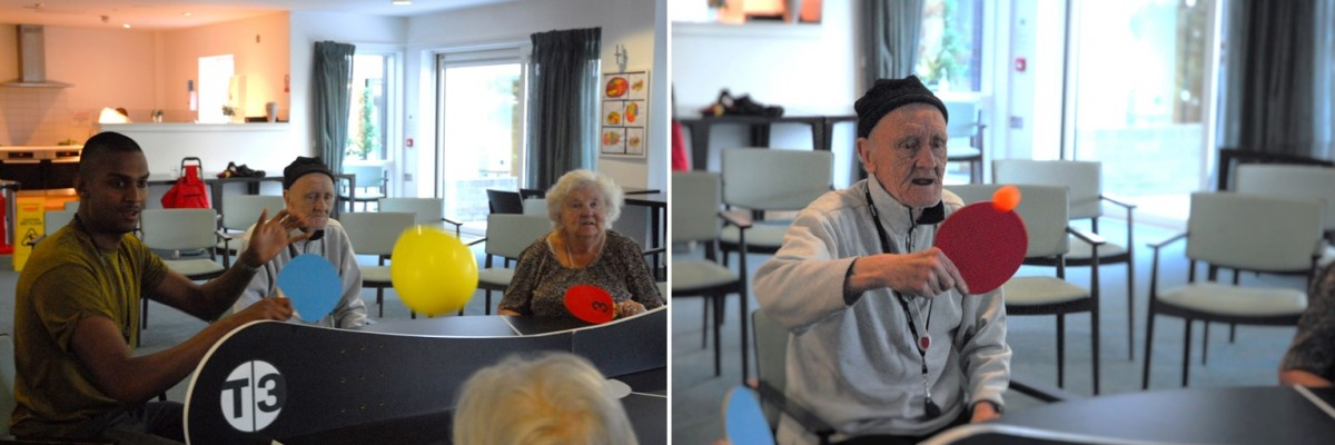 T3 world alzheimers day senior playing ping pong