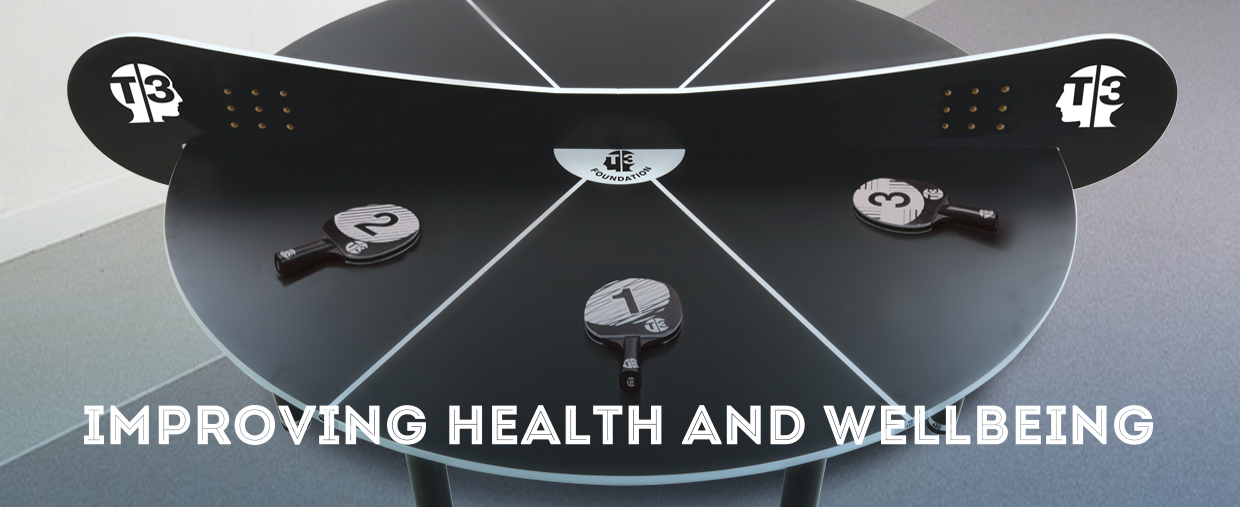 Play T3 Ping Pong for your health